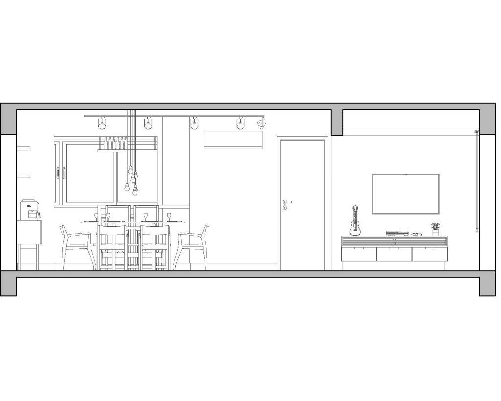 Una casa de playa en un departamento de ciudad por W4 Arquitetura 22