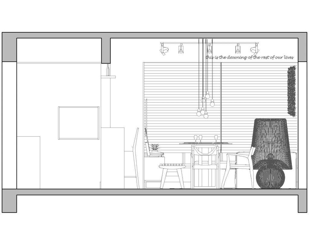 Una casa de playa en un departamento de ciudad por W4 Arquitetura 28