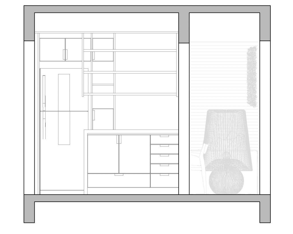 Una casa de playa en un departamento de ciudad por W4 Arquitetura 30