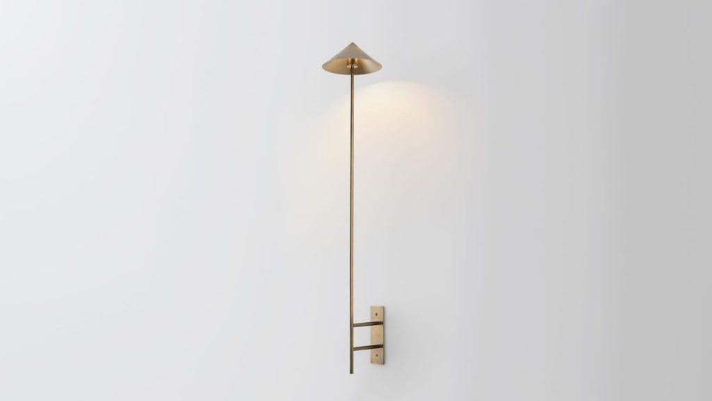 Iluminación con forma piramidal pensada por Volker Haug Studio 9
