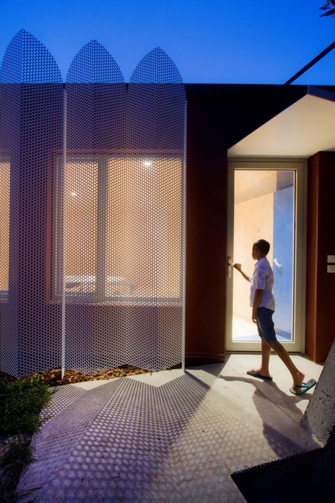 """Una """"Cabina urbana"""" con un toque persa en 25 m2 1"""