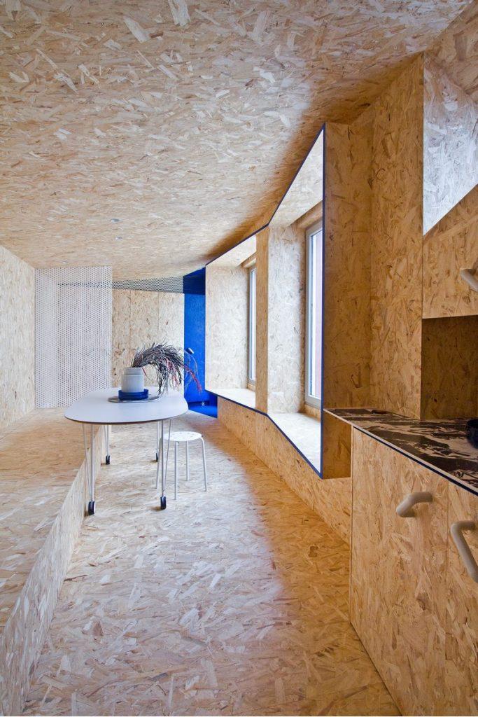 """Una """"Cabina urbana"""" con un toque persa en 25 m2 18"""