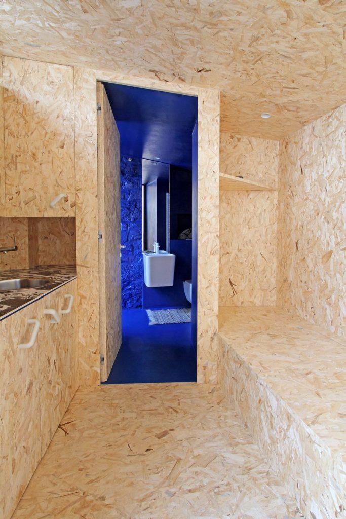 """Una """"Cabina urbana"""" con un toque persa en 25 m2 29"""