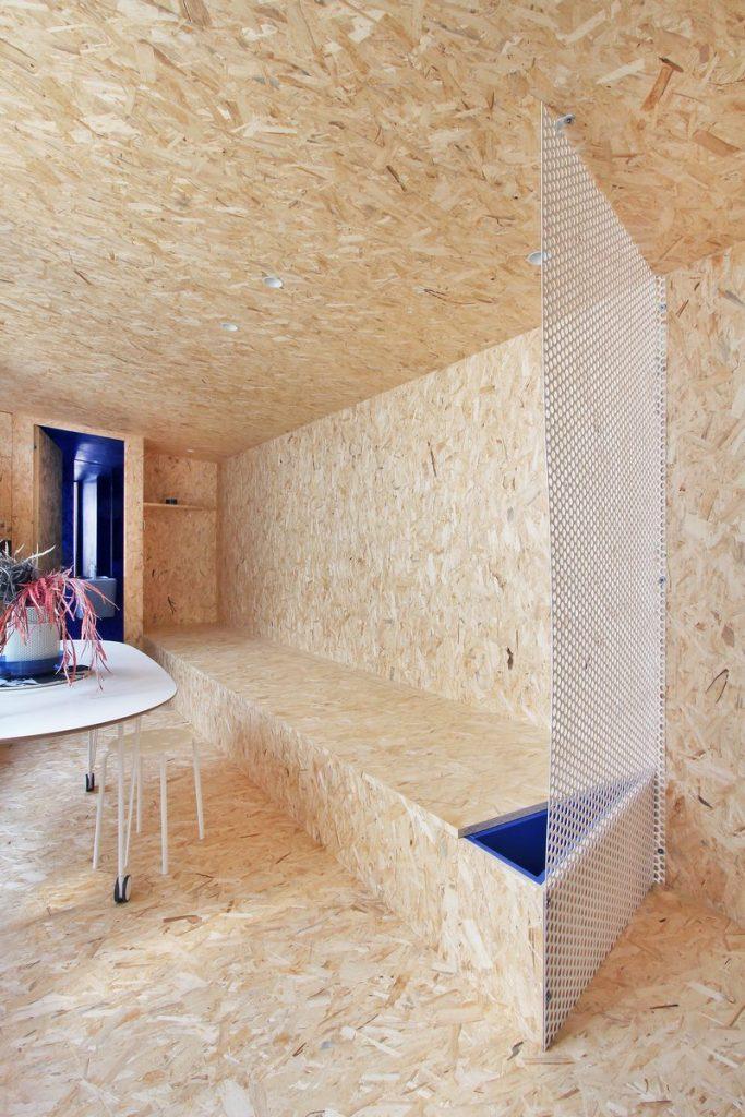 """Una """"Cabina urbana"""" con un toque persa en 25 m2 23"""