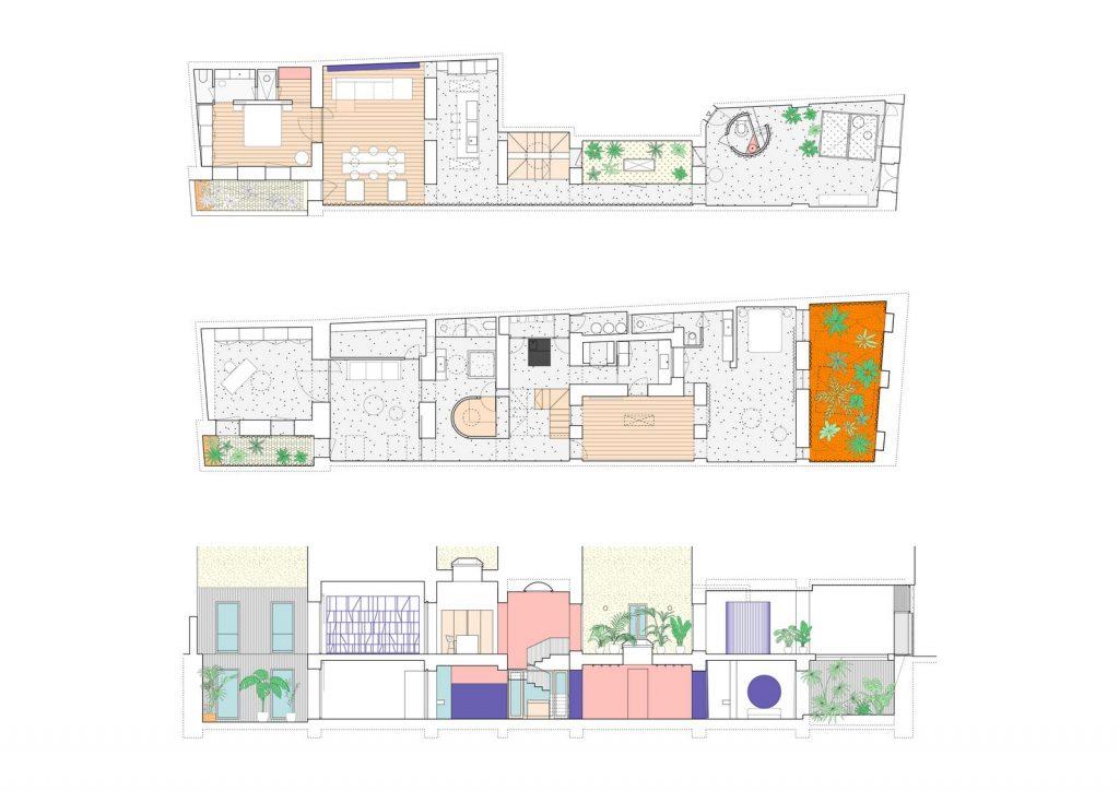 La casa del patio naranja 11