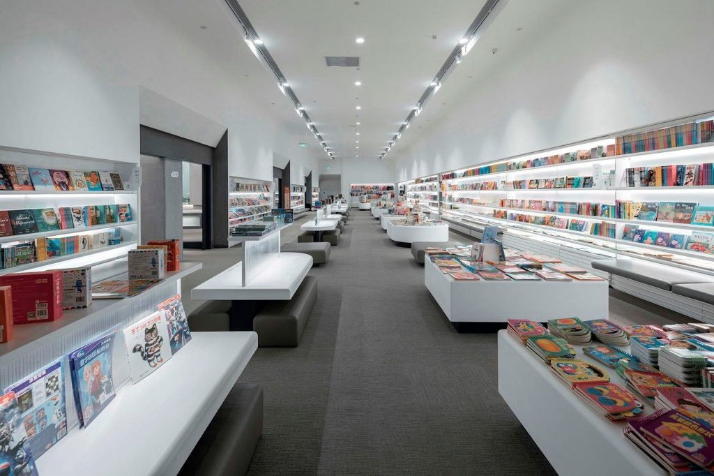 Librería E Pang, humana y futurista 7