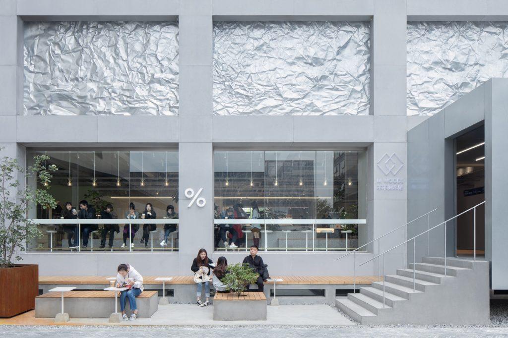 Proyecto de renovación de la comunidad artística de M WOODS 9