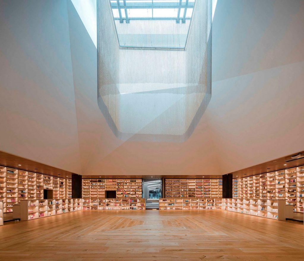 Librería E Pang, humana y futurista 22