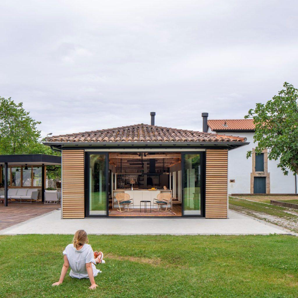Vivienda en Güemes, reconversión de un establo en vivienda 2