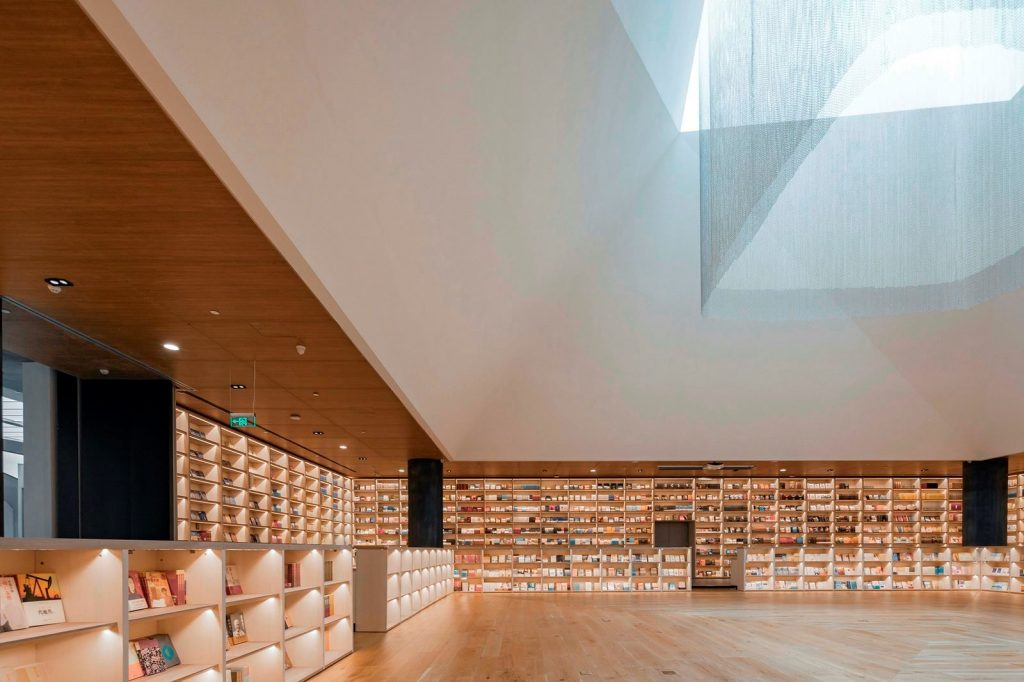 Librería E Pang, humana y futurista 20