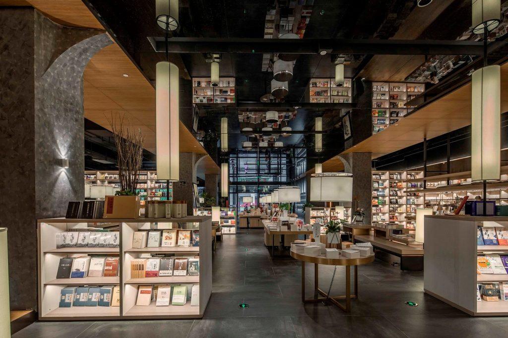 Librería E Pang, humana y futurista 12