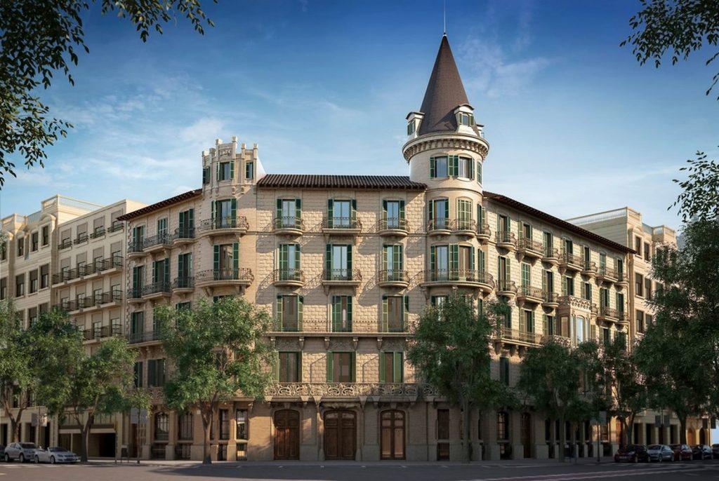 Casa Burés, Barcelona 1