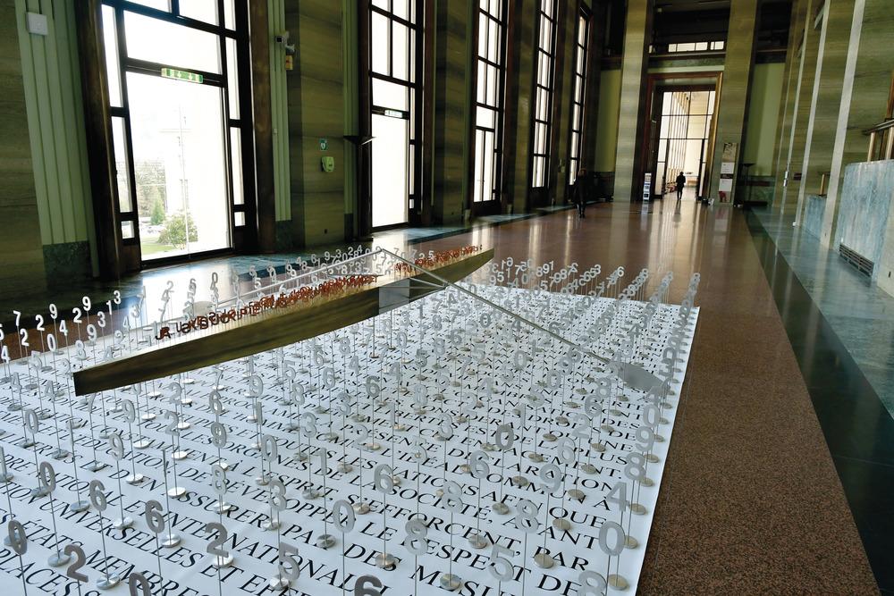 Exposición Brigitte Bouchard de Jacek Jarnuszkiewicz en la ONU 4