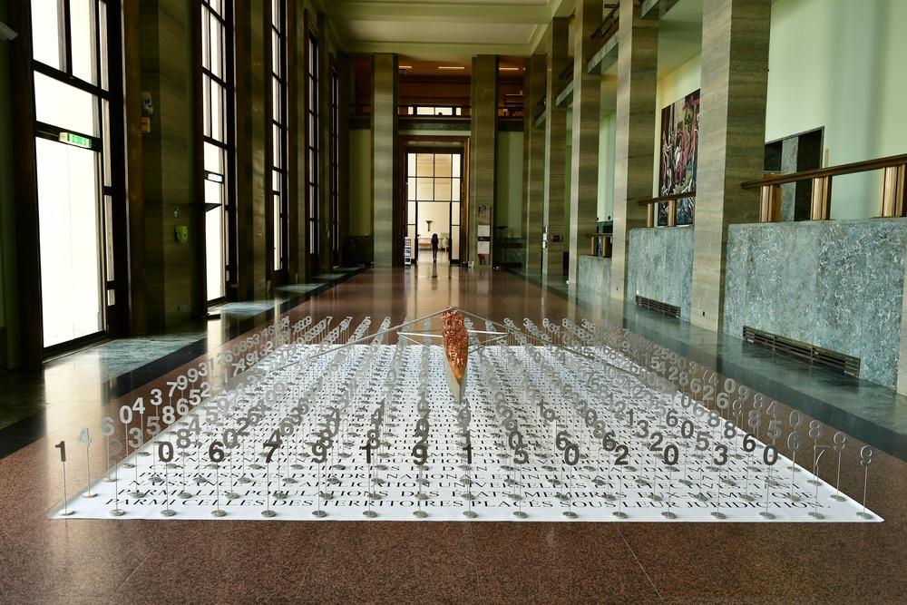 Exposición Brigitte Bouchard de Jacek Jarnuszkiewicz en la ONU 9