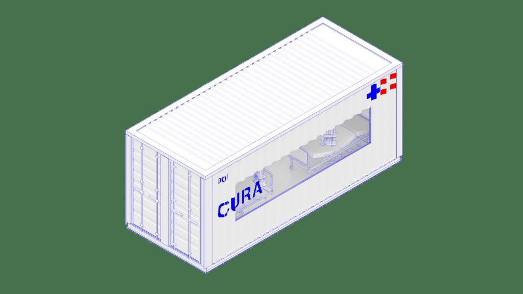 Contenedores de envío:  una  alternativa eficaz como Unidad de Cuidados Intensivos para combatir Covid-19 1