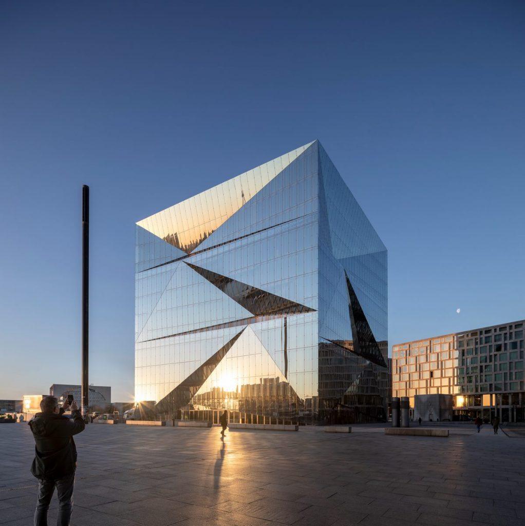 """""""The Cube"""" en Berlín 11"""