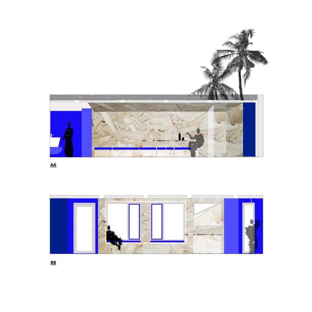 """Una """"Cabina urbana"""" con un toque persa en 25 m2 35"""
