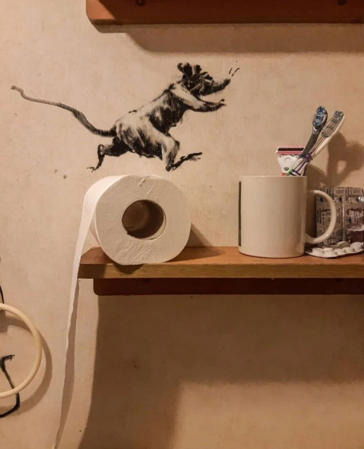 Banksy se divierte 1