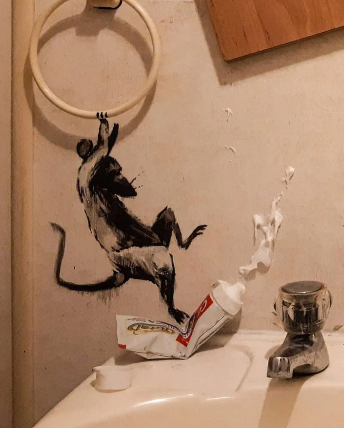El Superhéroe de Banksy 6