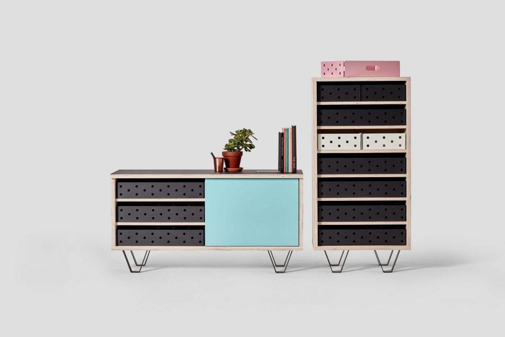 Soluciones de almacenamiento y estanterías de Very Good & Proper para mantenerse ordenado en casa 1