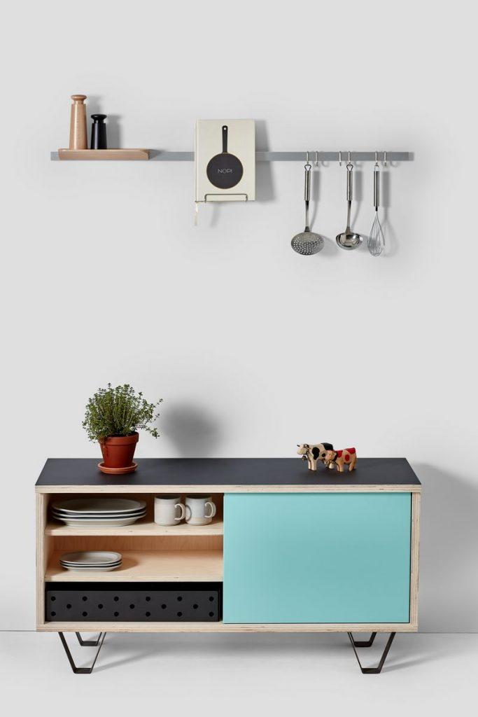 Soluciones de almacenamiento y estanterías de Very Good & Proper para mantenerse ordenado en casa 3