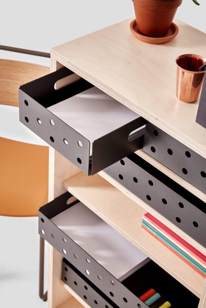 Soluciones de almacenamiento y estanterías de Very Good & Proper para mantenerse ordenado en casa 4