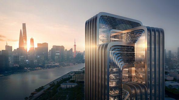 ZHA construirá la nueva sede de CECEP en Shanghai 3