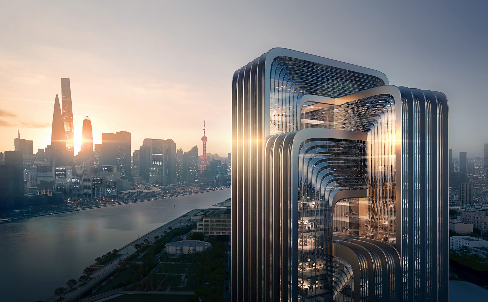 ZHA construirá la nueva sede de CECEP en Shanghai 1