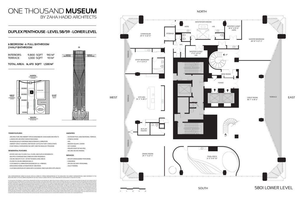 Fluidez entre arquitectura e ingeniería en las curvas de One Thousand Museum 20