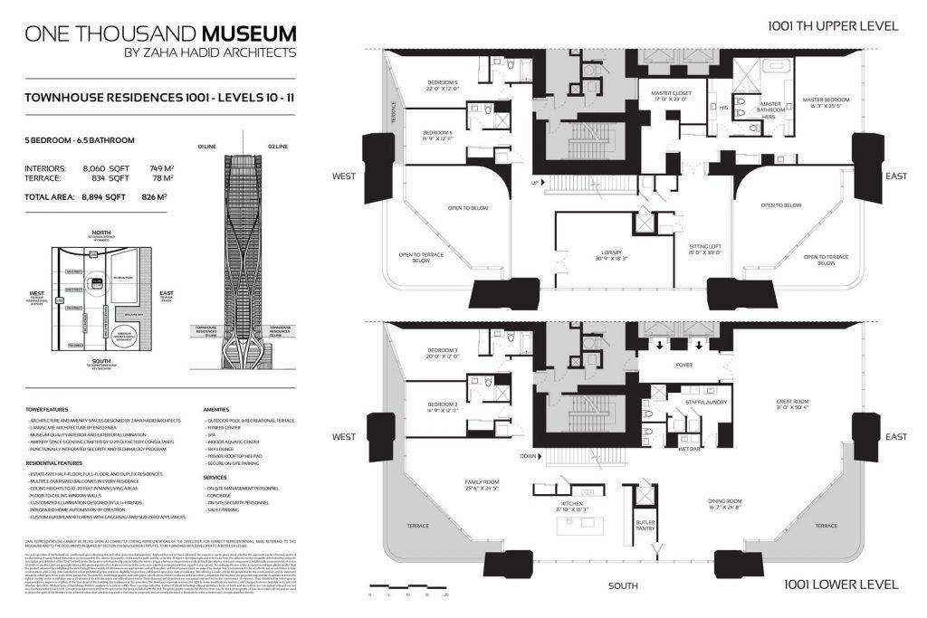Fluidez entre arquitectura e ingeniería en las curvas de One Thousand Museum 22