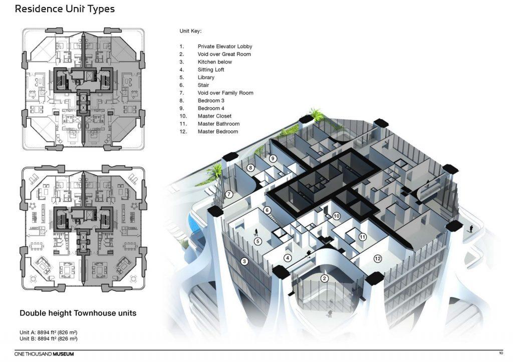 Fluidez entre arquitectura e ingeniería en las curvas de One Thousand Museum 26