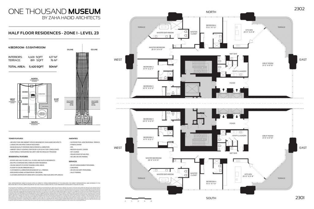 Fluidez entre arquitectura e ingeniería en las curvas de One Thousand Museum 23