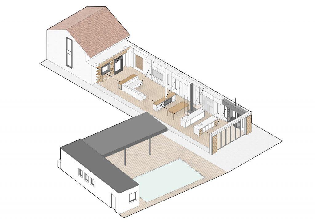 Vivienda en Güemes, reconversión de un establo en vivienda 30