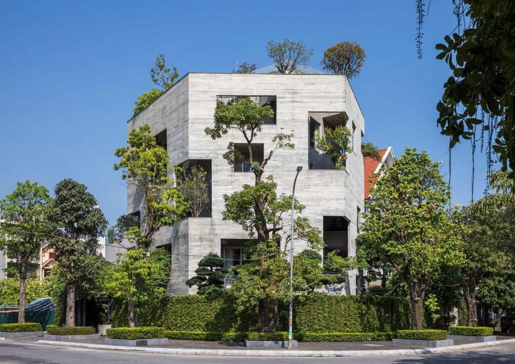 Ha Long Villa alberga la naturaleza en su interior 4