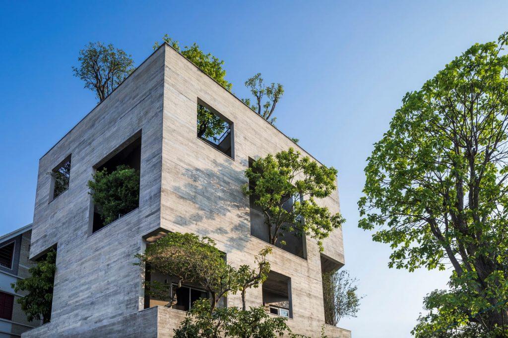 Ha Long Villa alberga la naturaleza en su interior 6