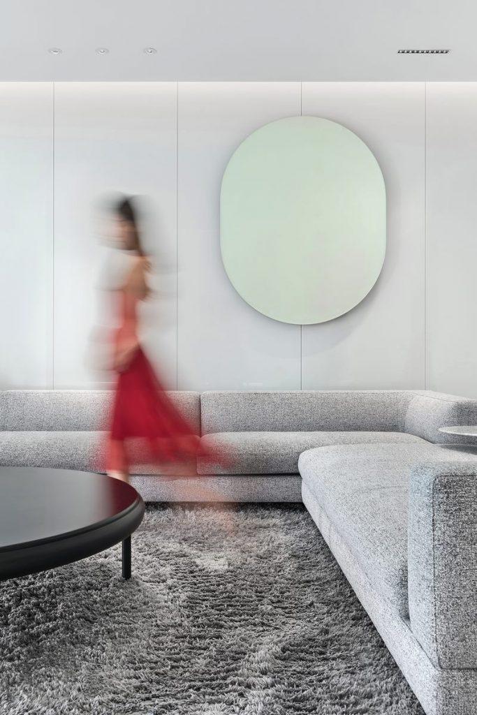 Una casa geométrica minimalista 2