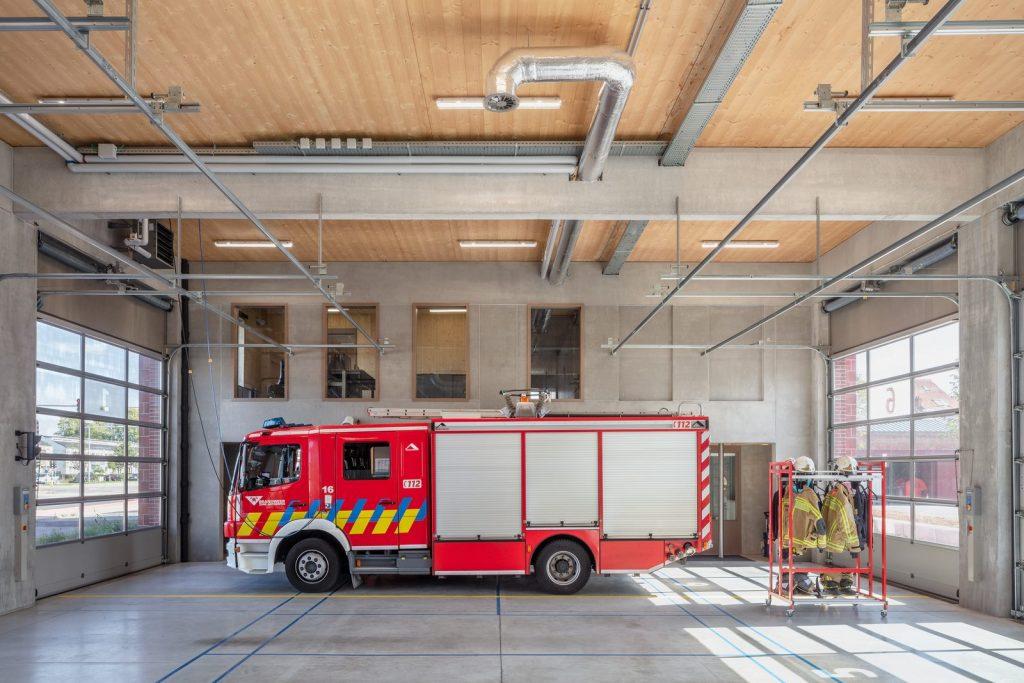Parque de bomberos Wilrijk, Amberes 1