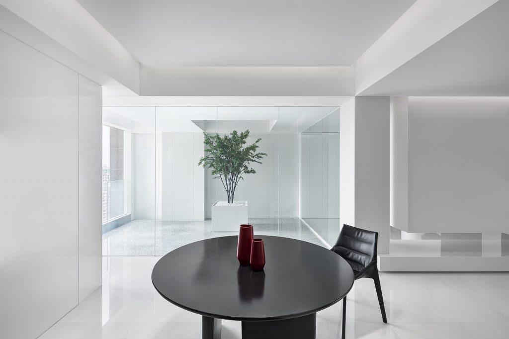 Una casa geométrica minimalista 5