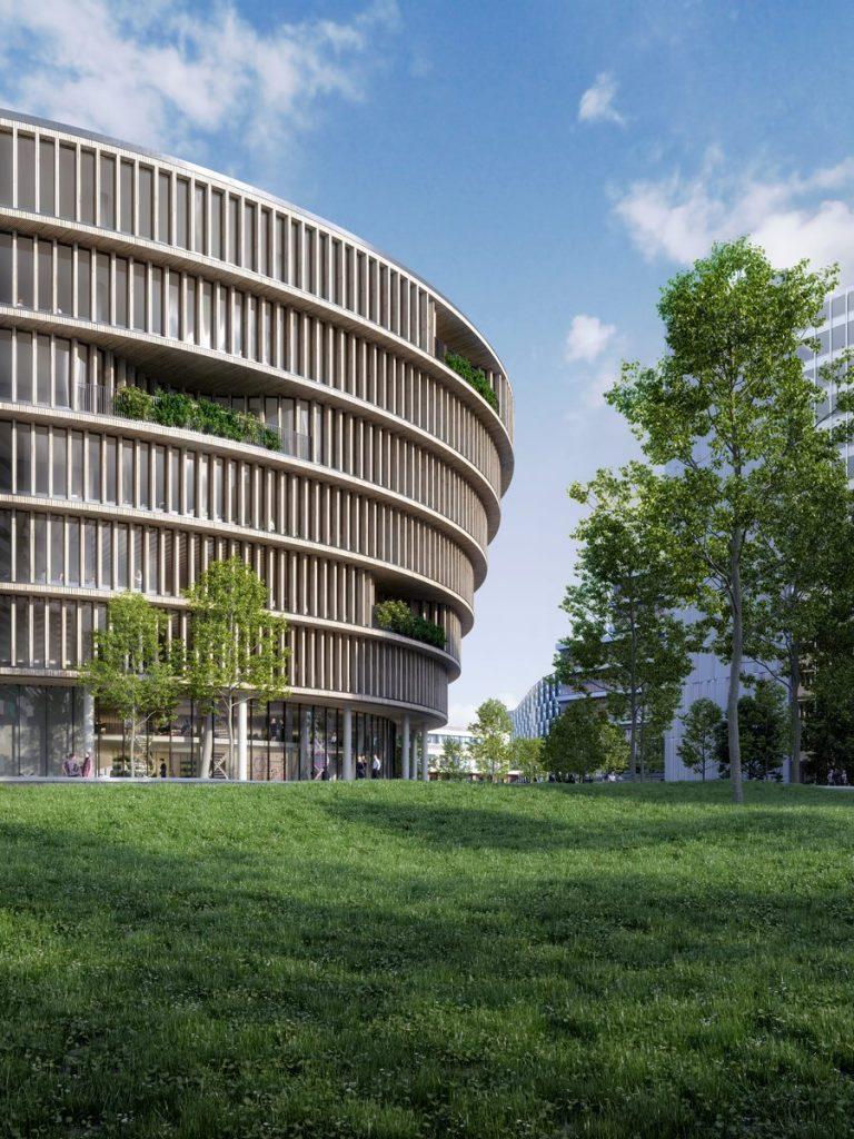 """3XN seleccionado para diseñar """"Forskaren"""" - Un nuevo centro de innovación en ciencias de la salud y la vida en Estocolmo 2"""