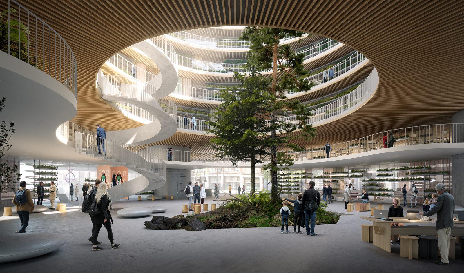 """3XN seleccionado para diseñar """"Forskaren"""" - Un nuevo centro de innovación en ciencias de la salud y la vida en Estocolmo 3"""