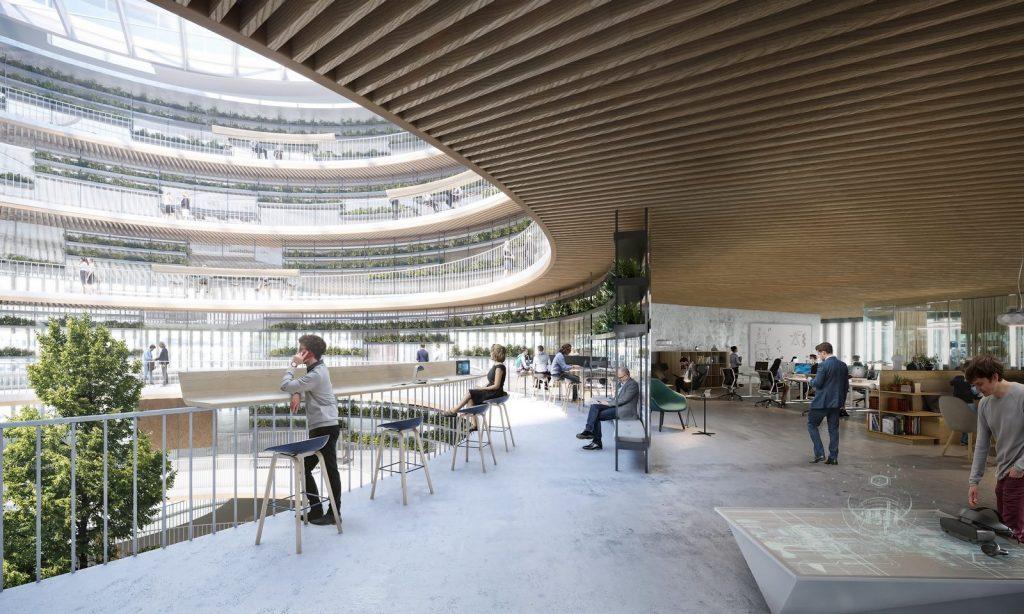 """3XN seleccionado para diseñar """"Forskaren"""" - Un nuevo centro de innovación en ciencias de la salud y la vida en Estocolmo 1"""