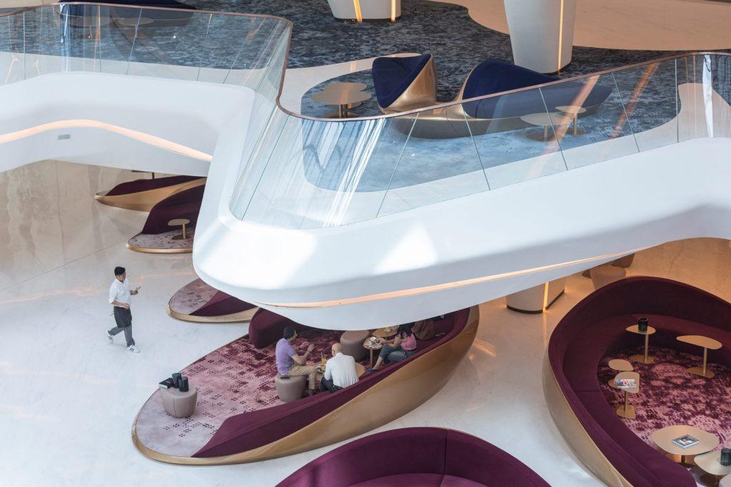 """Finalmente se completó """"ME Dubai hotel en el Opus"""". Un proyecto 100% diseño de Zaha Hadid. 18"""