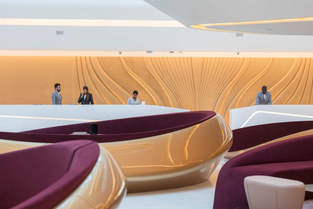 """Finalmente se completó """"ME Dubai hotel en el Opus"""". Un proyecto 100% diseño de Zaha Hadid. 25"""