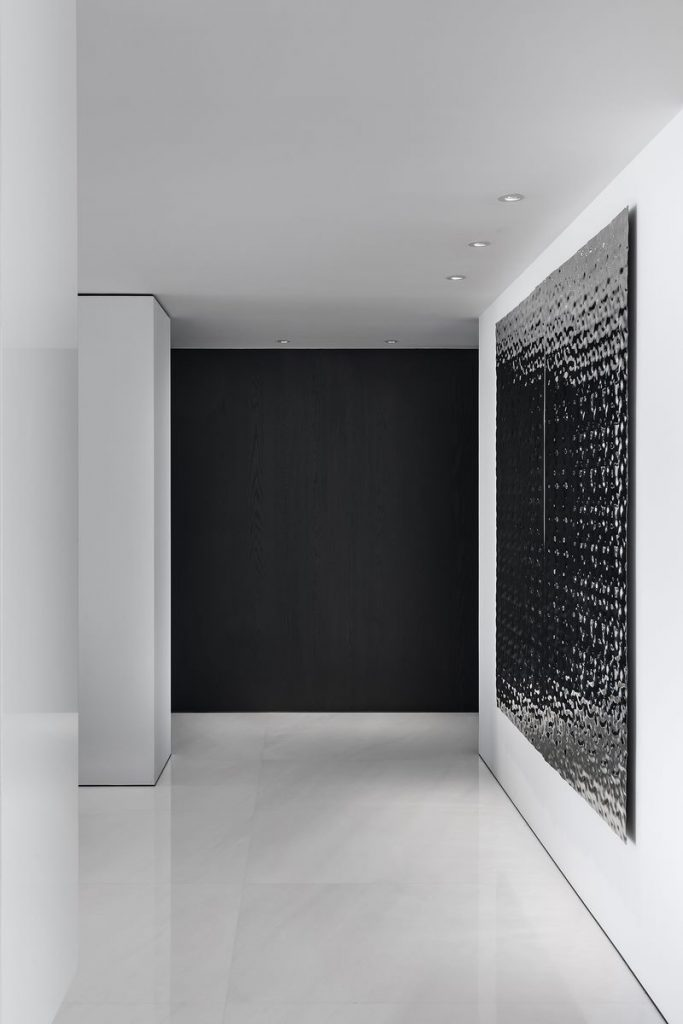 Una casa geométrica minimalista 15