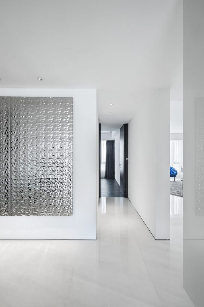 Una casa geométrica minimalista 21