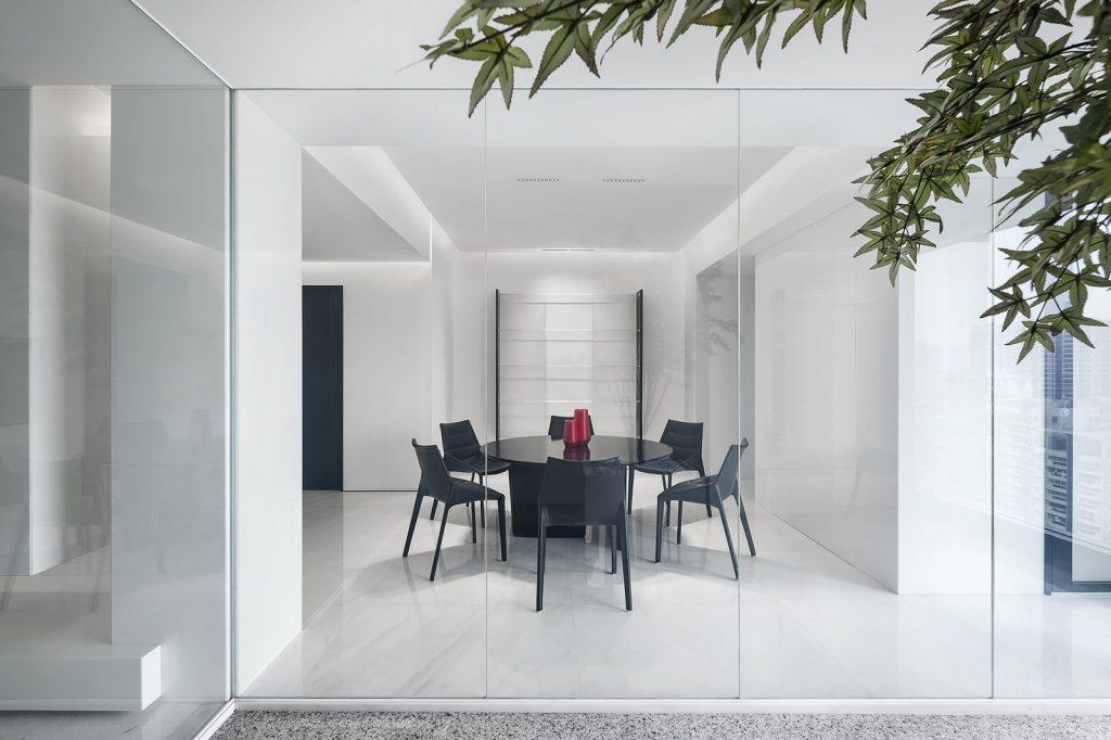 Una casa geométrica minimalista 22