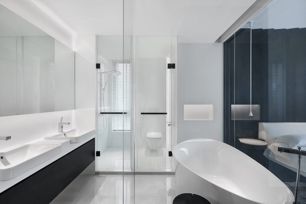 Una casa geométrica minimalista 27