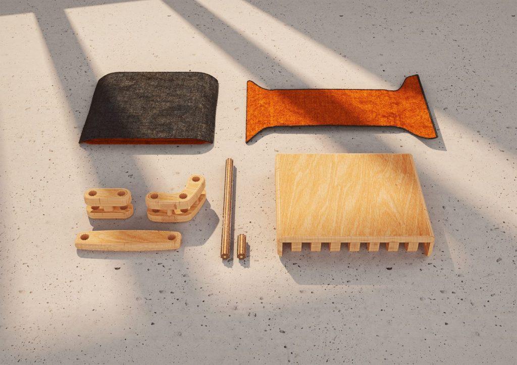 La creatividad ilimitada se ve reflejada en Un-Lim, un diseño para armar, desarmar y volver a armar 9