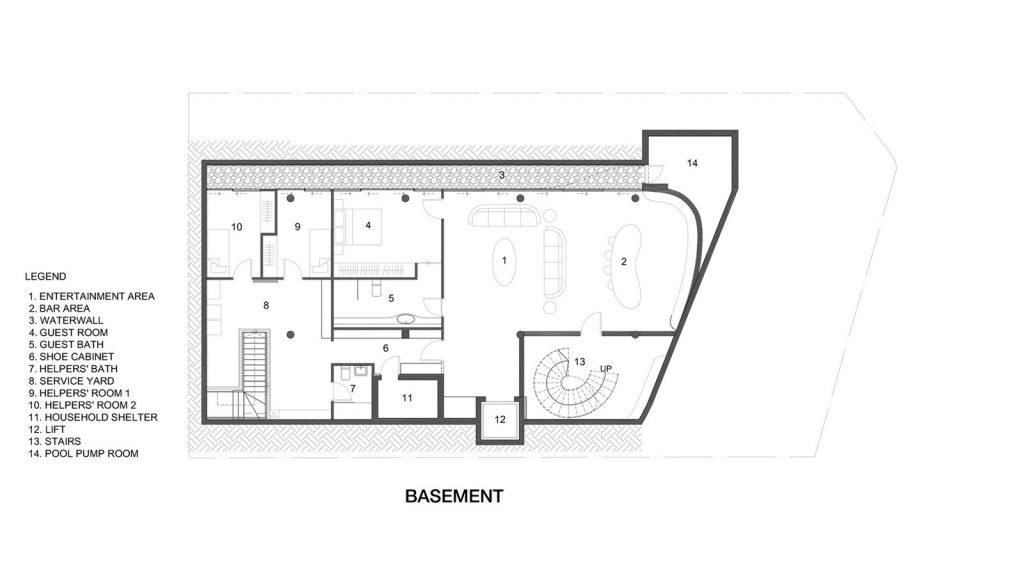 Con las curvas y sensualidad femenina EHKA STUDIO diseñó Stiletto House 8