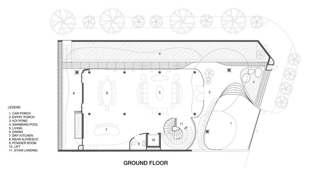 Con las curvas y sensualidad femenina EHKA STUDIO diseñó Stiletto House 9